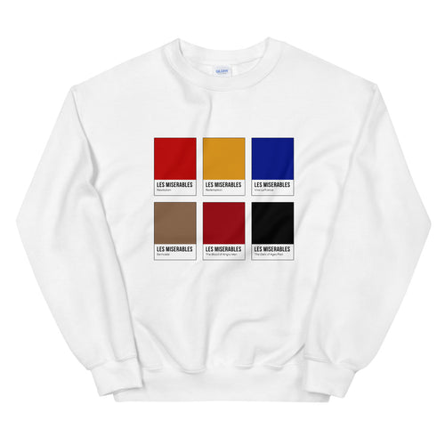 French Rebellion Color Chip Sweatshirt