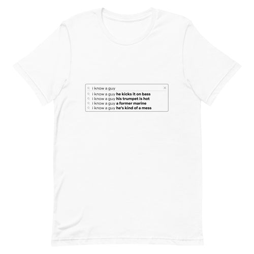Finding the Band Search Bar T-Shirt