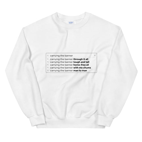 Headline Sales Search Bar Sweatshirt