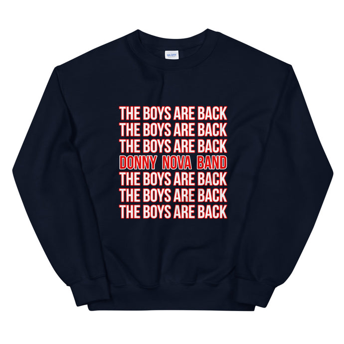 Military Homecoming Stacked Statement Sweatshirt
