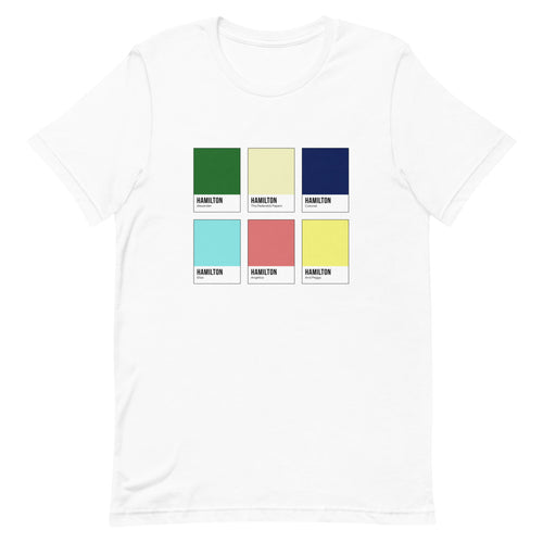 American Revolution Color Chip T-Shirt