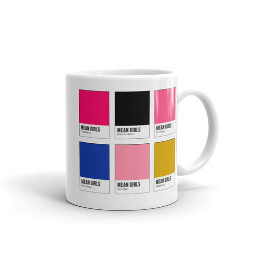 Queen Bees Color Chip Mug