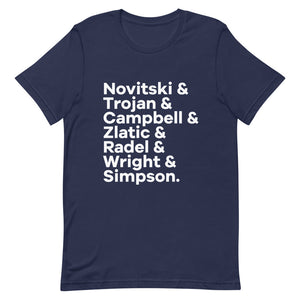 Swing Band Character List T-Shirt