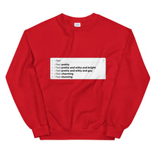 Load image into Gallery viewer, Feelings Search Bar Sweatshirt