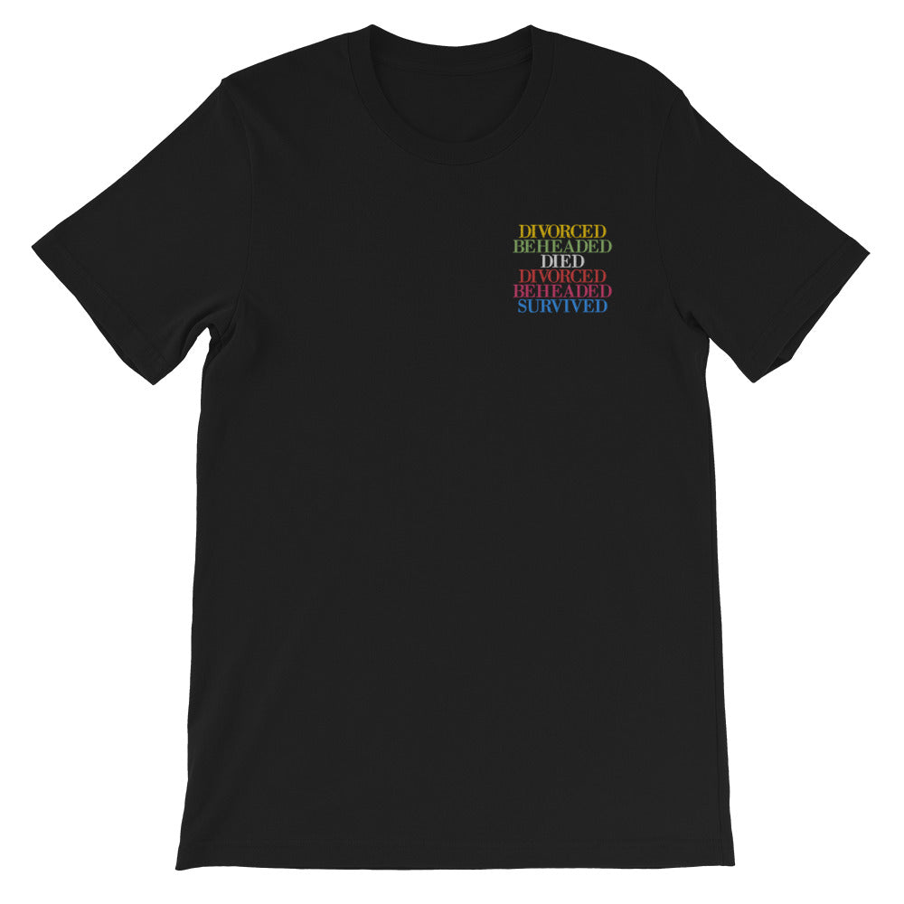 Royal Outcomes Embroidered T-Shirt