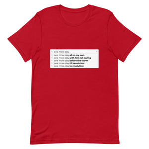 Un Jour De Plus Search Bar T-Shirt