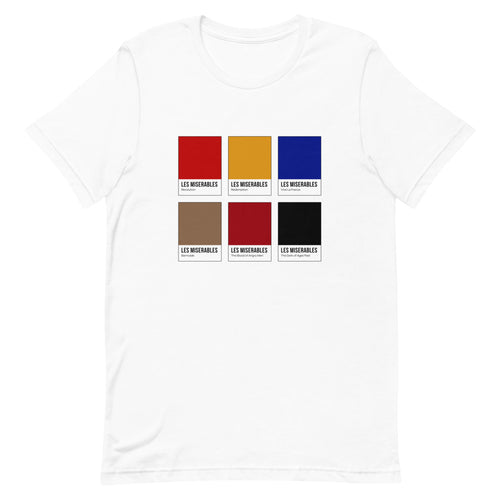 French Rebellion Color Chip T-Shirt