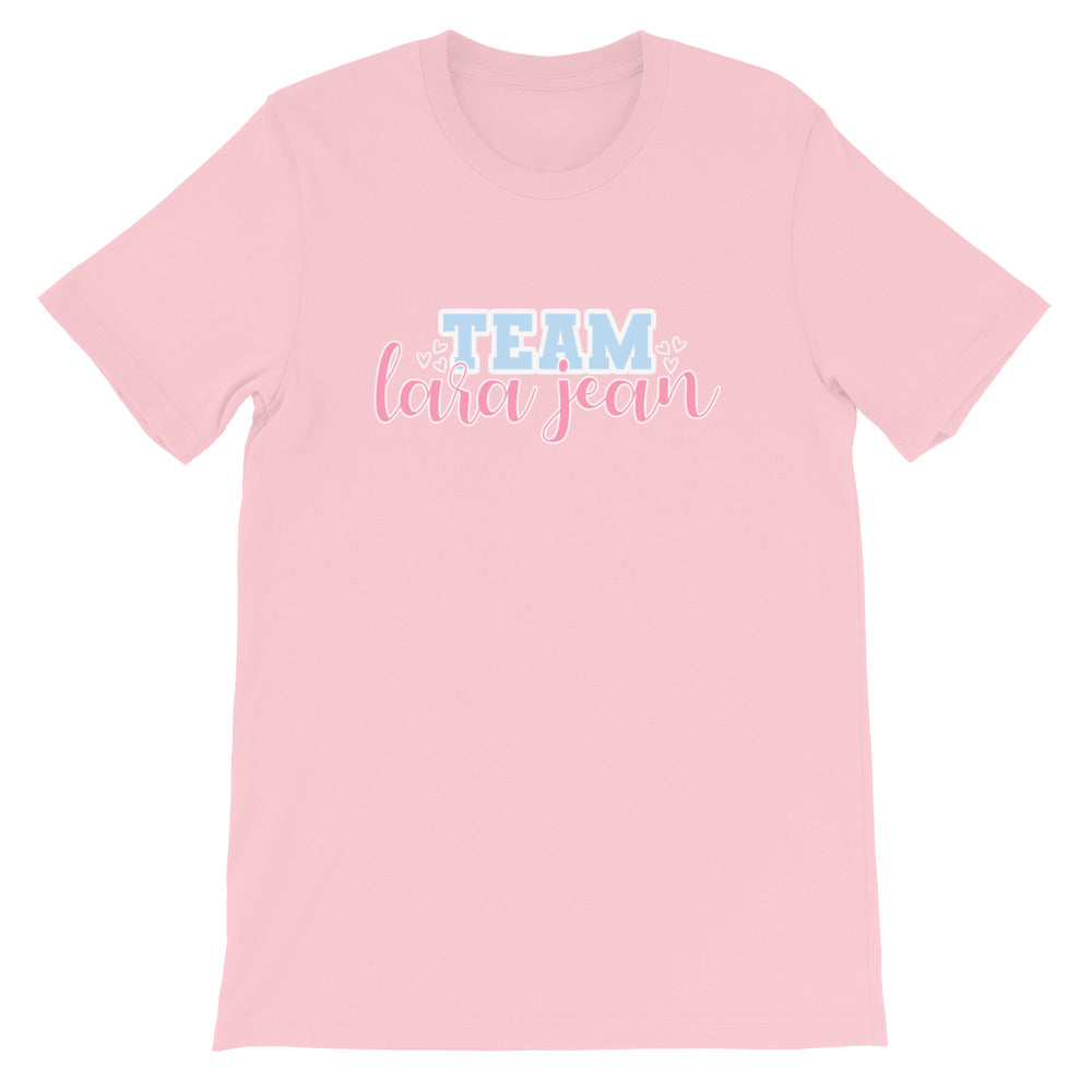 Team LJ T-Shirt (Hair Bow Pink)