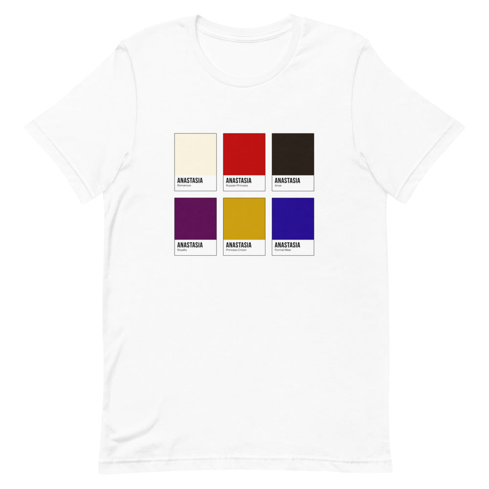 Missing Royalty Color Chip T-Shirt