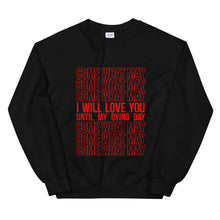 Load image into Gallery viewer, Everlasting Love Stacked Statement Sweatshirt