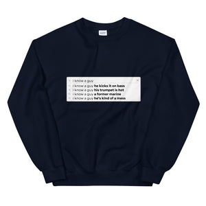 Finding the Band Search Bar Sweatshirt