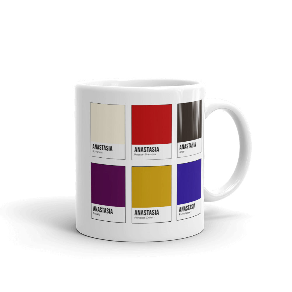 Missing Royalty Color Chip Mug