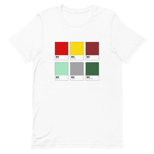 Unusual Couple Color Chip T-Shirt