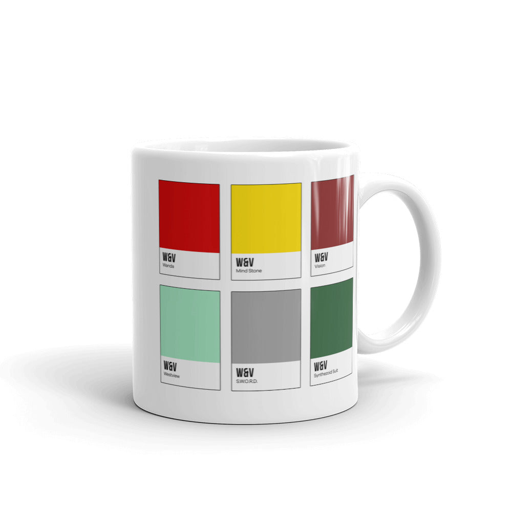 Unusual Couple Color Chip Mug