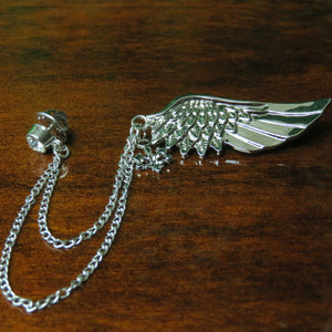 Silver Wing w/ Chain