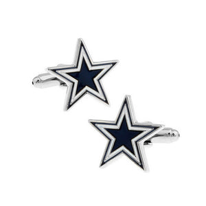 Blue Star Cufflinks