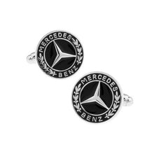Load image into Gallery viewer, Mercedes-Benz Logo Cufflinks