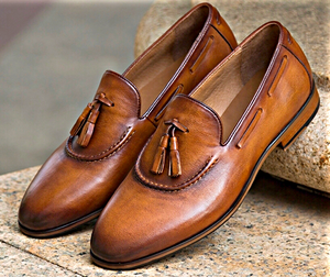 Tassel Loafers- Brown