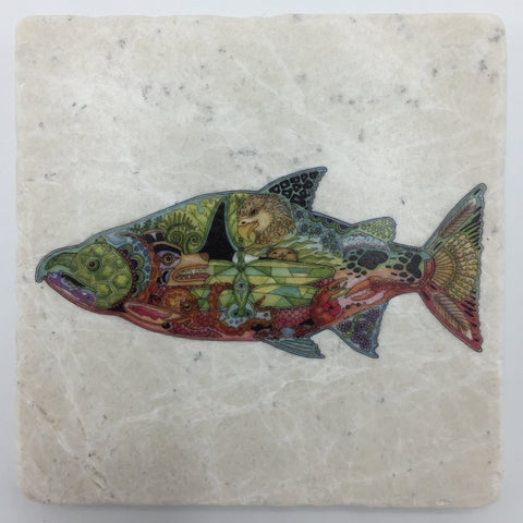 Sue Coccia Chinook Coaster