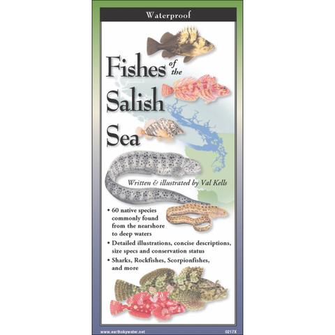 Fishes of the Salish Sea, folding field guide