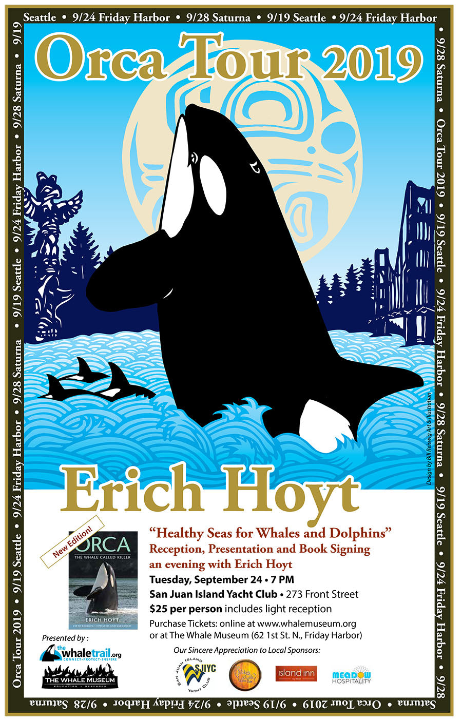 Orca Tour 2019: An Evening with Author Erich Hoyt