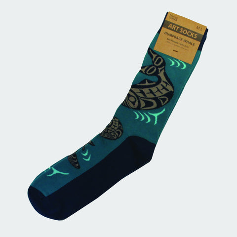 Humpback Art Socks