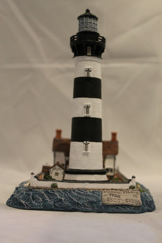 Collector Lighthouse: Morris Island, SC (then) #HL189
