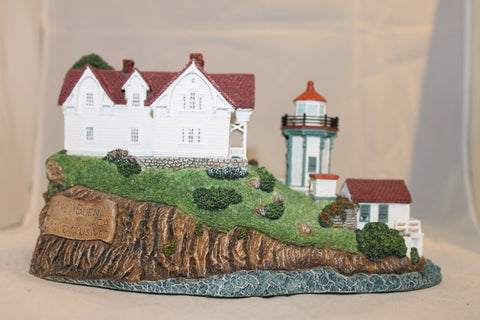 Collector Lighthouse: Yerba Buena, CA - Signed #HL639s