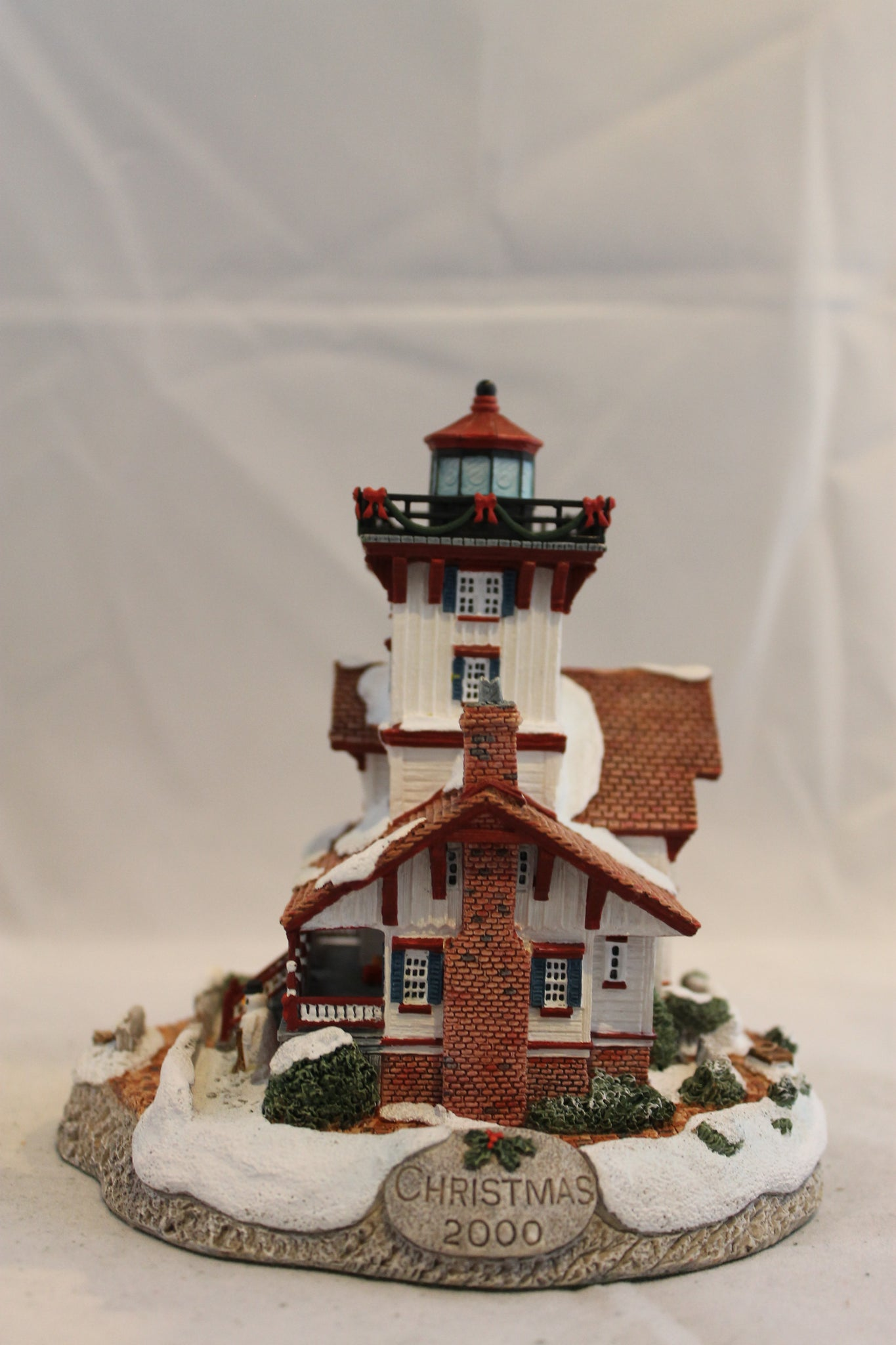 "Collector Lighthouse: ""Christmas '00,"" Hereford Inlet, NJ #HL710"