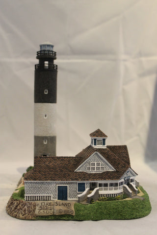 Collector Lighthouse: Oak Island, NC #HL240