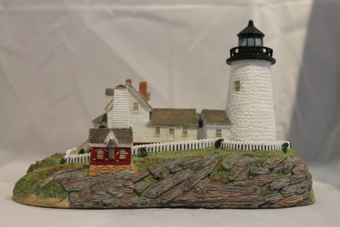 Collector Lighthouse: Pemaquid Point, ME #HL164