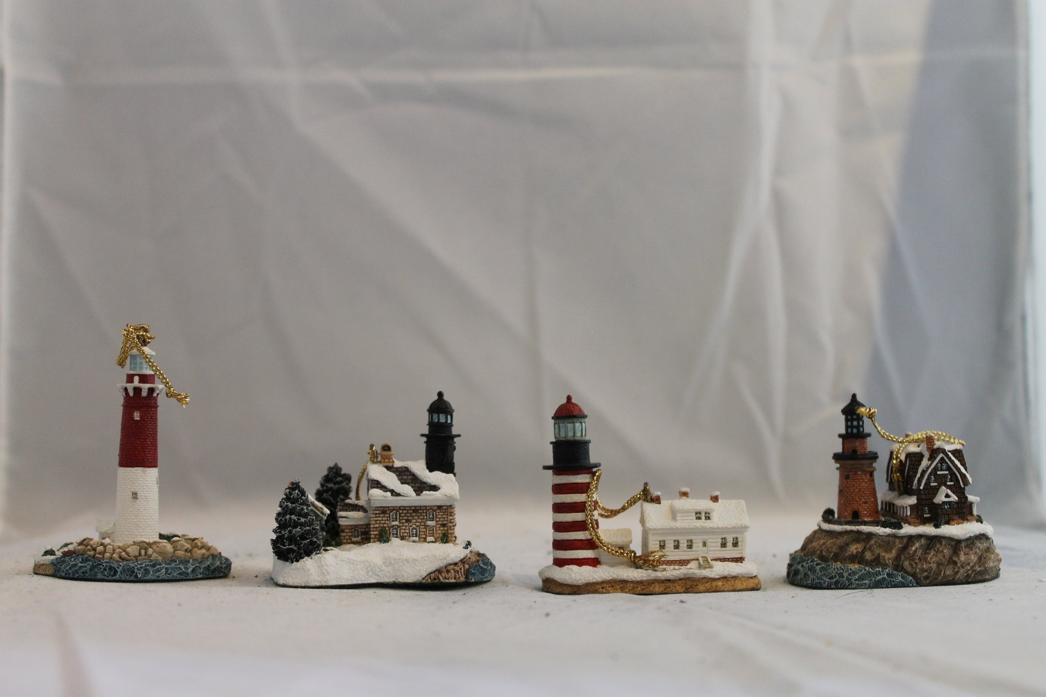 Collector Lighthouse: Ornament Set 1999 #HL709