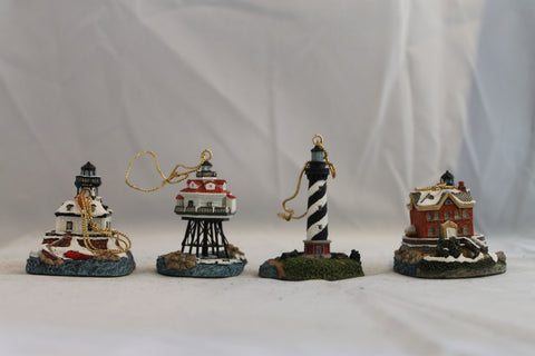 Collector Lighthouse: Ornament Set 1997 #HL705
