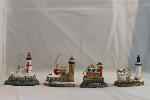 Collector Lighthouse: Ornament Set 2000 #HL711