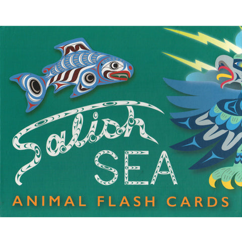 Salish Sea Animal Flash Cards
