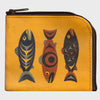 Salmon in the Wind coin purse