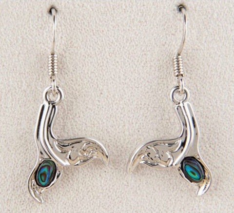 Whale Tail Sculpted Earing
