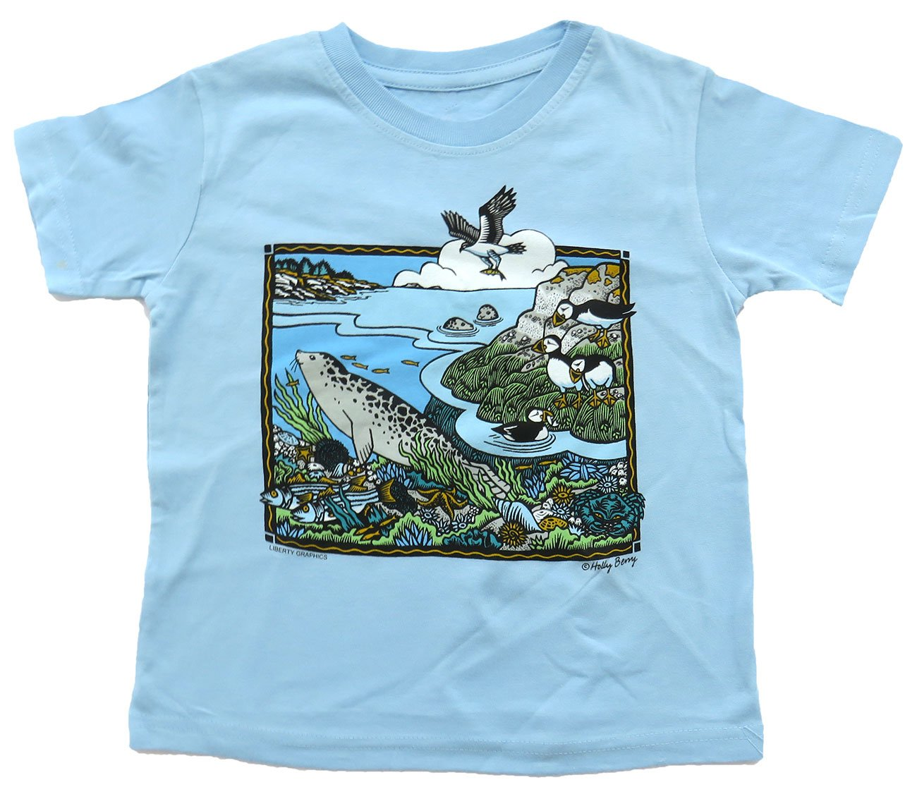 T-Shirt: Shore Scene, toddler