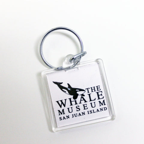 The Whale Museum Keychain