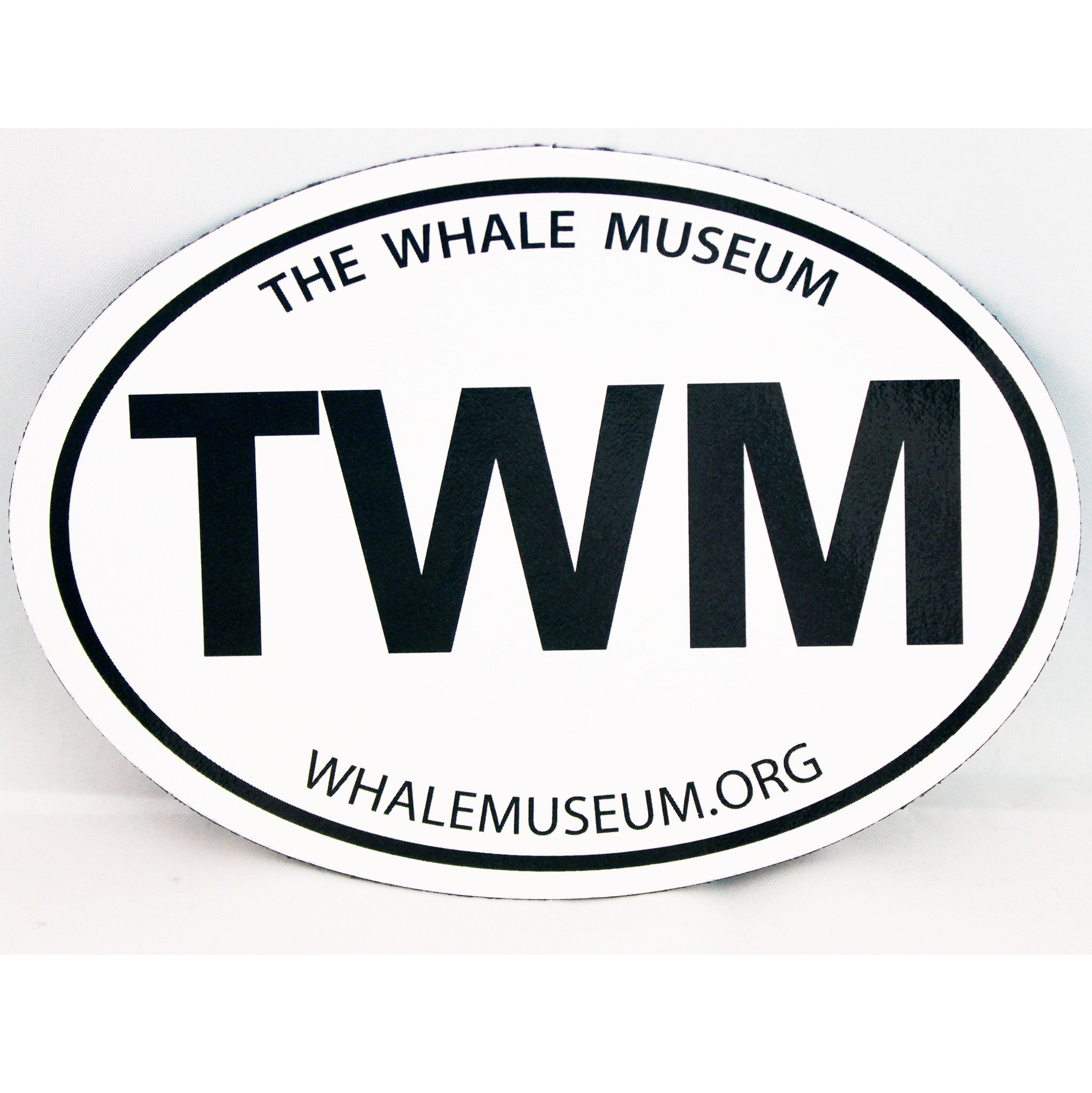 TWM oval (Euro) sticker