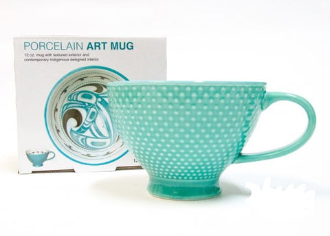 Porcelain Art Cup: Killer Whale
