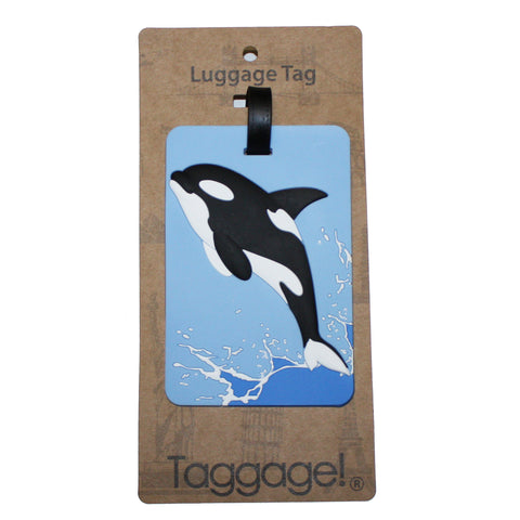 Orca Luggage Tag