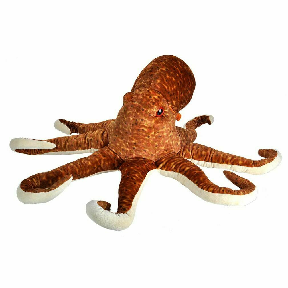 Octopus Plush: Giant