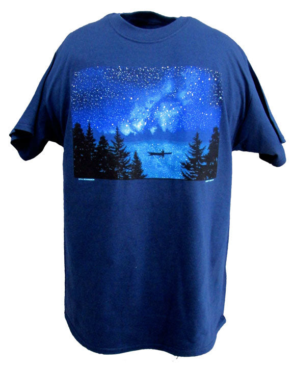 T-Shirt: Night Kayaker, Adult