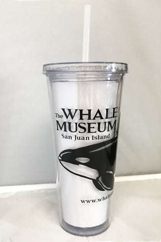 The Whale Museum Reusable Tumbler