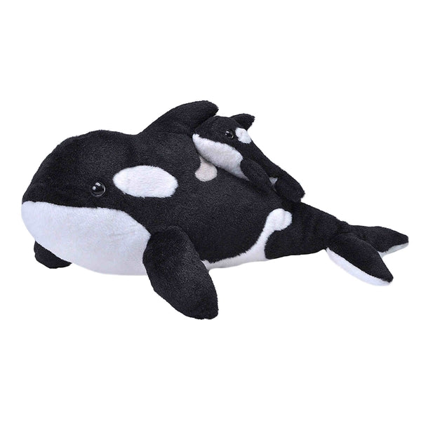 Orca Plush: Mom and Baby