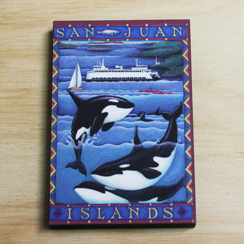 Orca & Ferry magnet