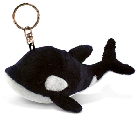 Plush Key Chain: Orca or Octopus