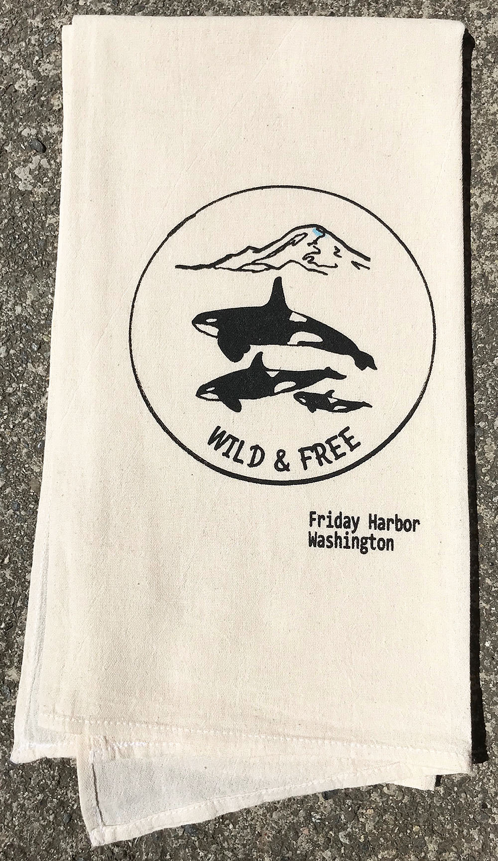 Wild & Free Tea Towel