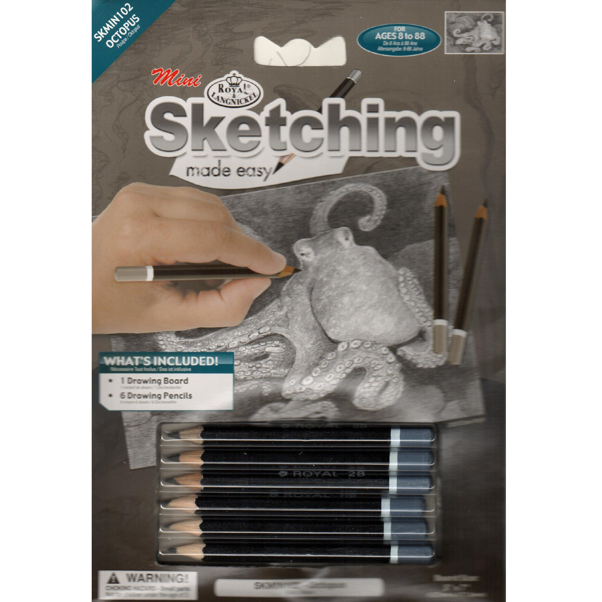 Octopus Sketching Set